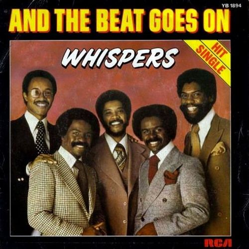 The Whispers - And the Beat Goes On (studio acapella)