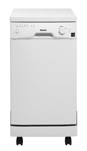 Danby Ddw1899wp 8 Place Setting Portable Dishwasher White With