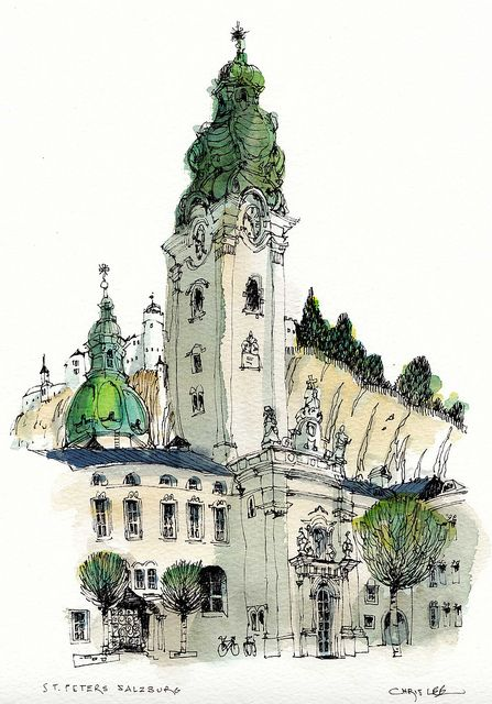 St Peter's, Salzburg | Flickr - Photo Sharing!