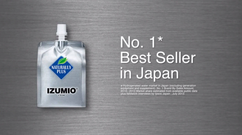 No1 Hydrogen Water IZUMIO made in JAPAN http//yocon