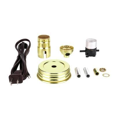 Commercial Electric 3 Way Socket Lamp Kit 81585 Mason Jar Lamp