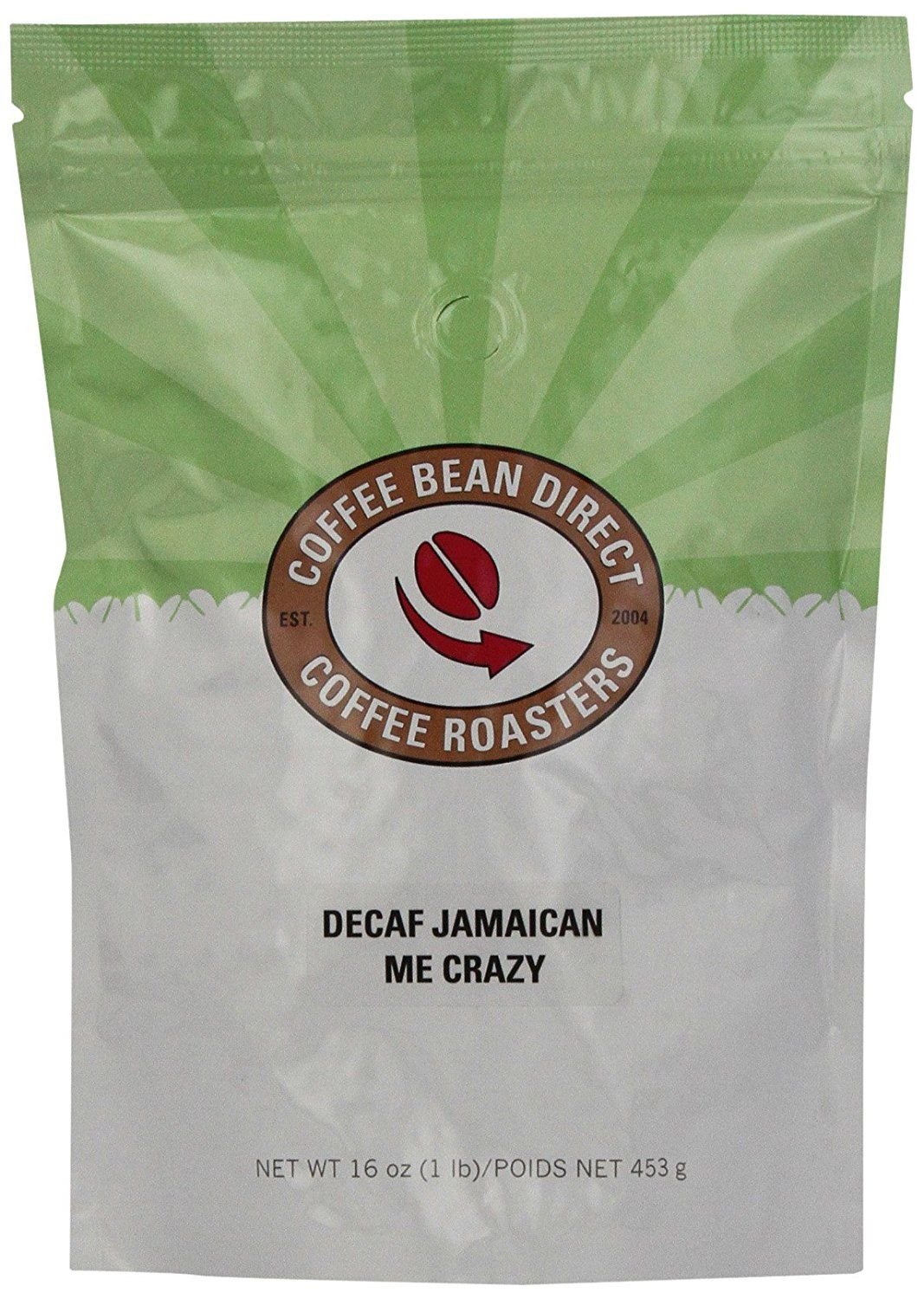 Coffee bean direct decaf jamaican me crazy flavored whole