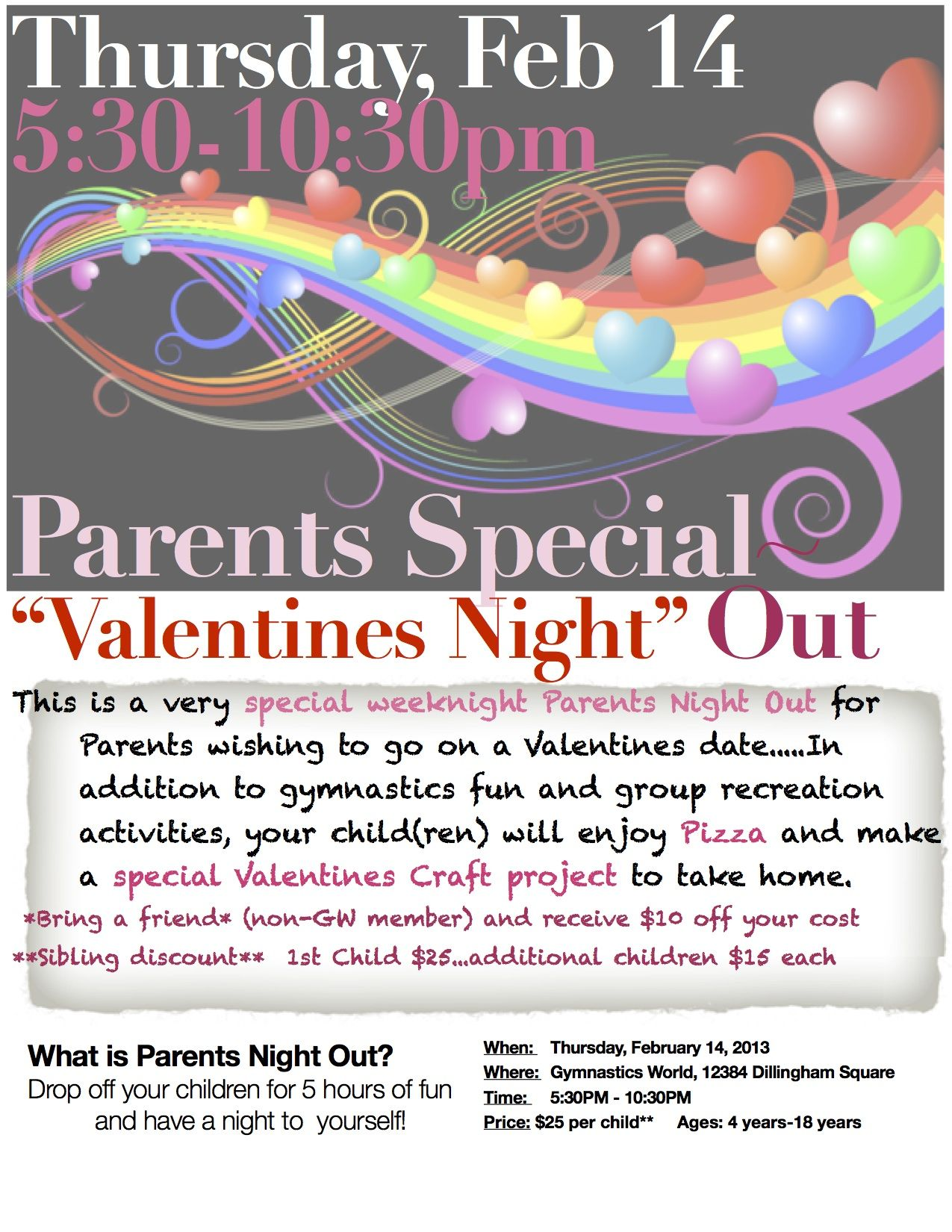 Pin By Trevor Mcmaken On Parent S Night Out Design Parent Night School Event Flyer Event Planning Quotes Parents night out flyer template