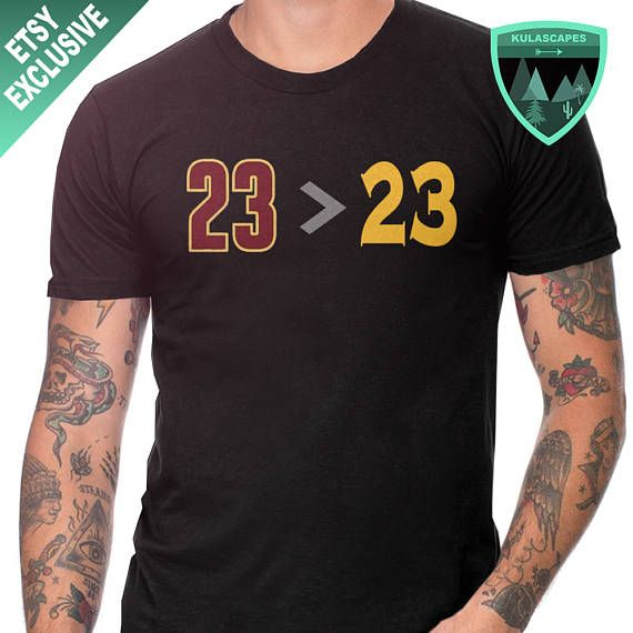new concept e6521 6ad5a Official Lebron James Greater than Draymond Green Shirt ...