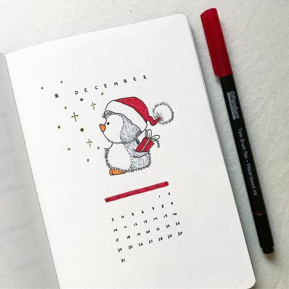 13 Of The Best Christmas and December Bullet Journal Spread Ideas