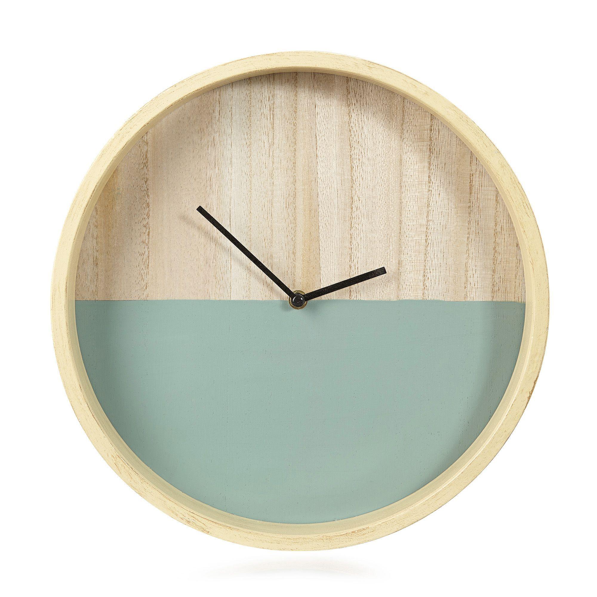 horloge verte d34cm julia horloges horloges r veils. Black Bedroom Furniture Sets. Home Design Ideas