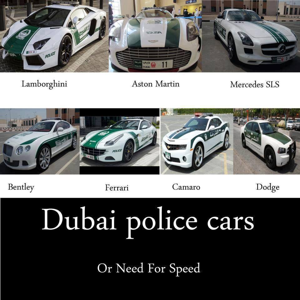 Unbelievable Facts Police Cars In Dubai Facebook