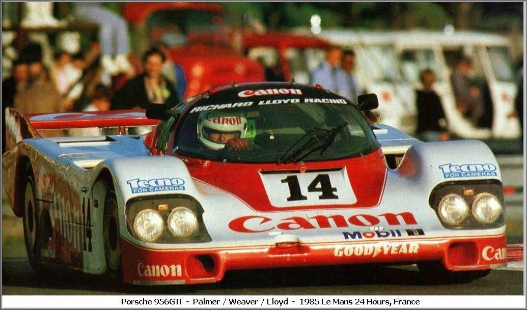 PORSCHE 956 GTI 24H LM 1985