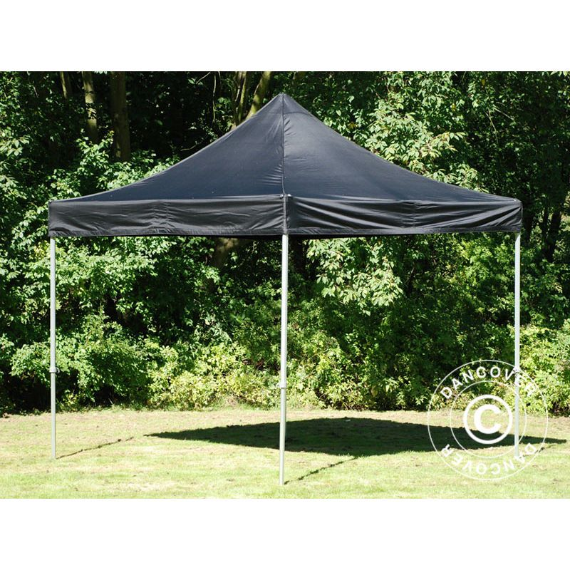 Tente Pliante Chapiteau Pliable Tonnelle Pliante Barnum Pliant Flextents Pro 2 5x2 5m Noir Dancover Patio Outdoor Decor Outdoor Structures