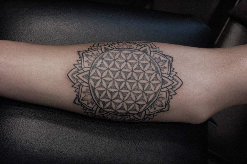 Dot Tattoo Lotus Buddhist Mandalas I Like Tattoo Inspirations