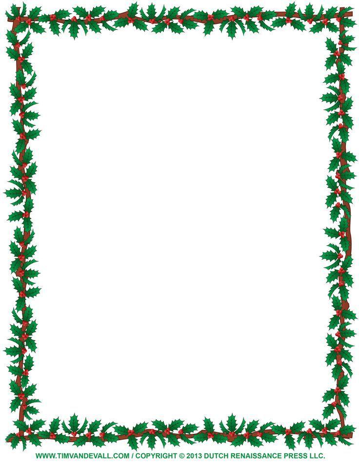 Image Result For Christmas Letterhead  Christmas Printables