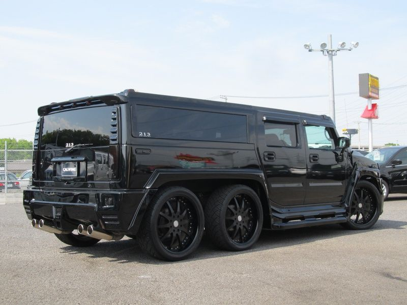 Blast from the Past: Ultimate Six Hummer - Motorward