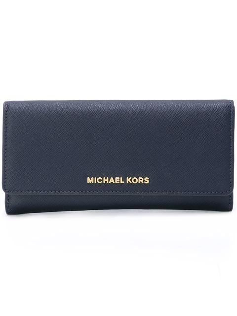 MICHAEL MICHAEL KORS logo plaque wallet. #michaelmichaelkors #标牌翻盖钱夹