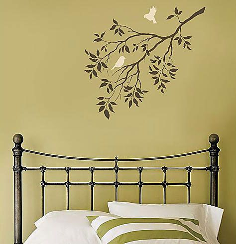Wall stencils, stencil designs for easy wall decor. Reusable wall ...