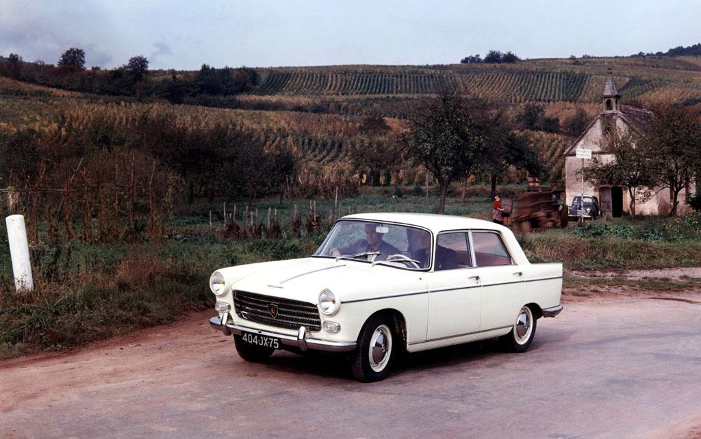 Peugeot 404 Saloon - 1960-1980 | French classic cars | Pinterest ...