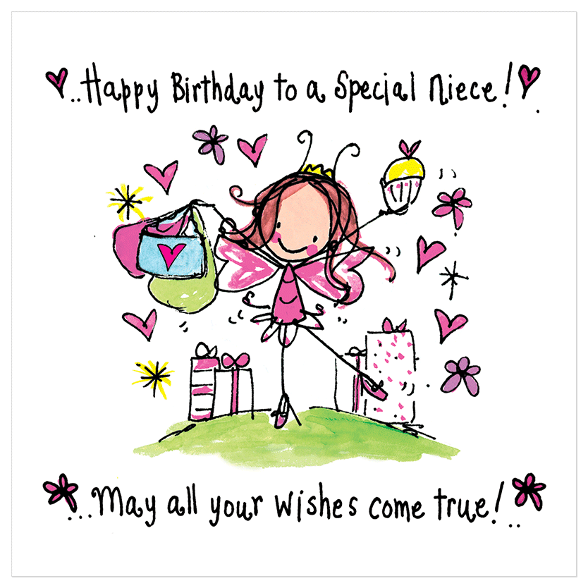 Happy Birthday To A Special Niece 21st Birthday Happy Birthday