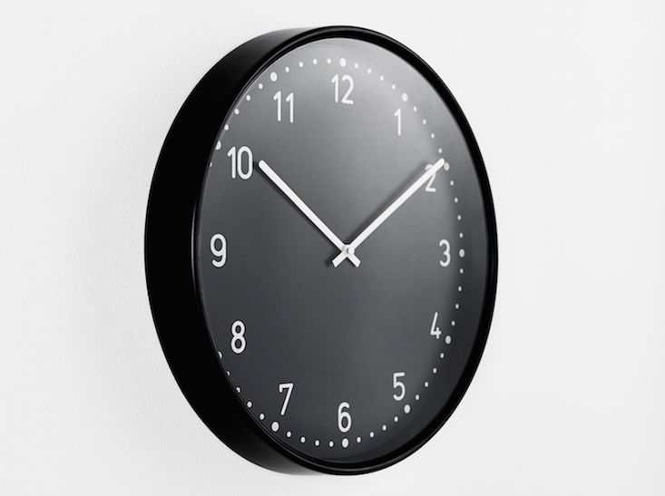 Ikea Bondis Wall Clock in Black