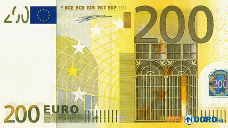 200 euro biljet Oud geld, Euro en Bankbiljet