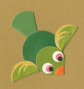 paper-folding-activities-for-flying-bird | Paper Folding Animals ...