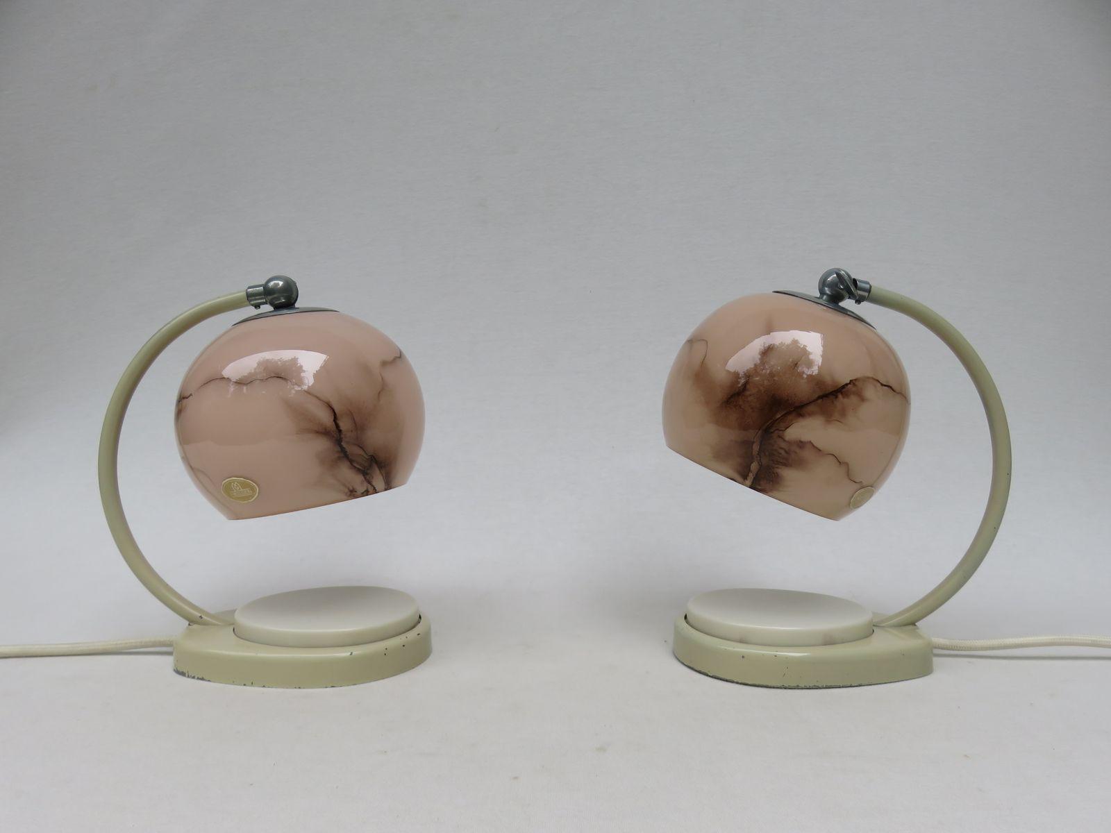 tischlampe modern silber nachttischlampe kupfer lampen