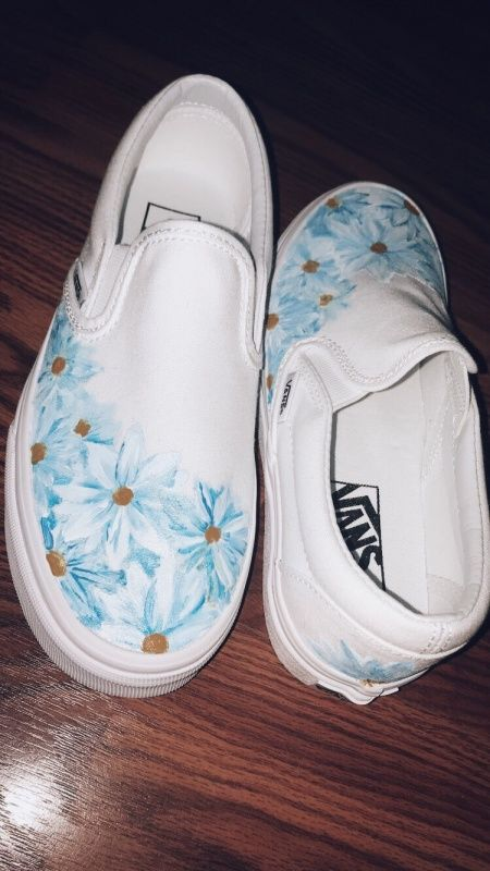 Pin by Raven on Outfits | Painted shoes diy, Custom vans