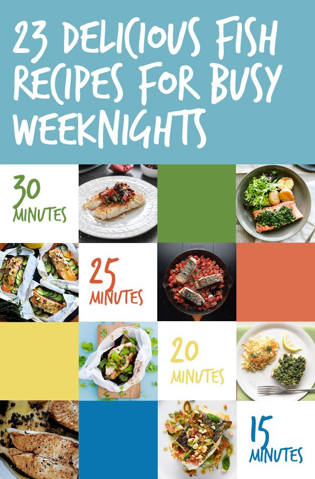 23 delicious fish recipes for busy weeknights recipes for Easy fish recipes for dinner