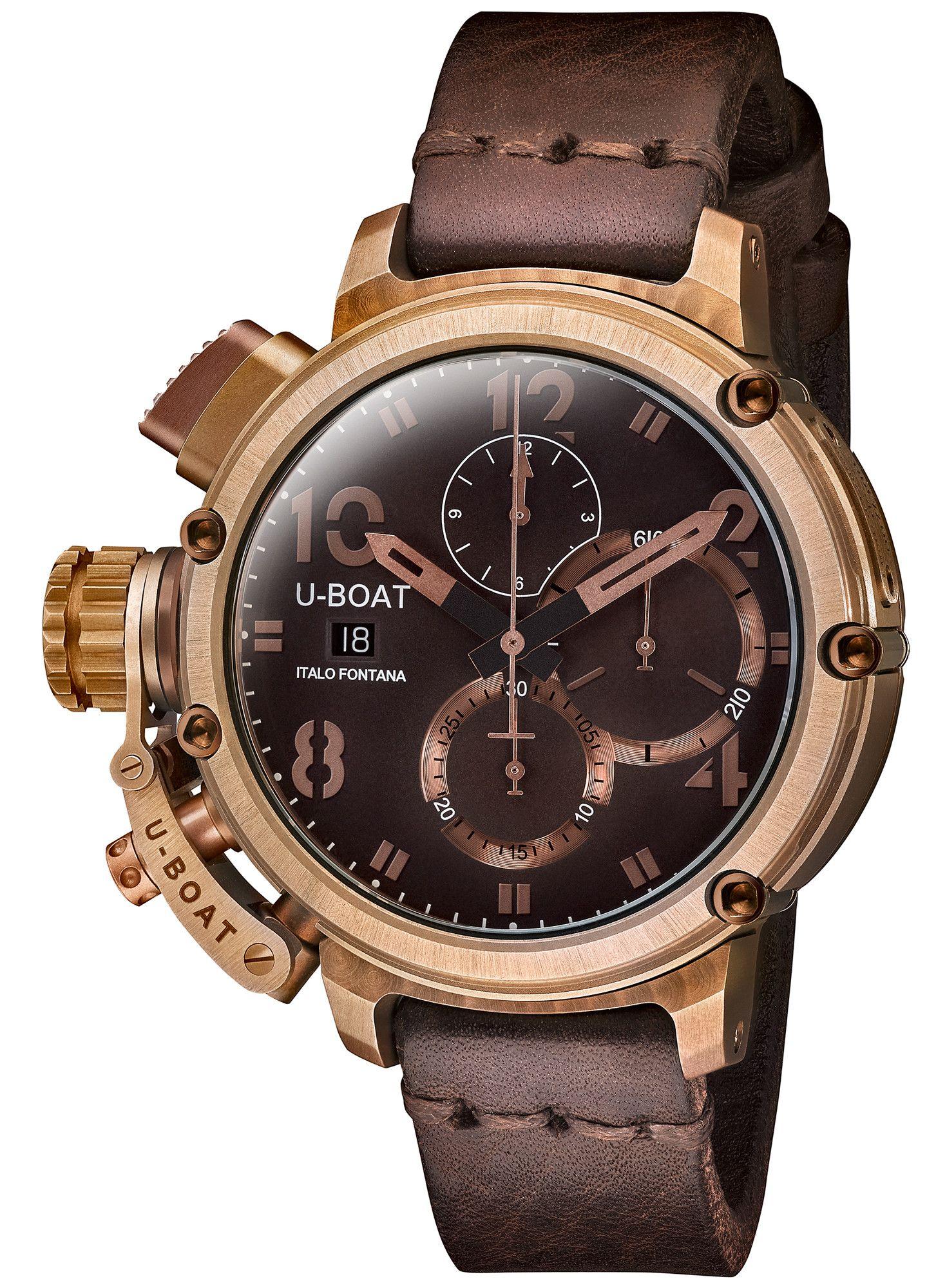 U-Boat Watch Chimera 46 Bronze Limited Edition  48ab46ebe