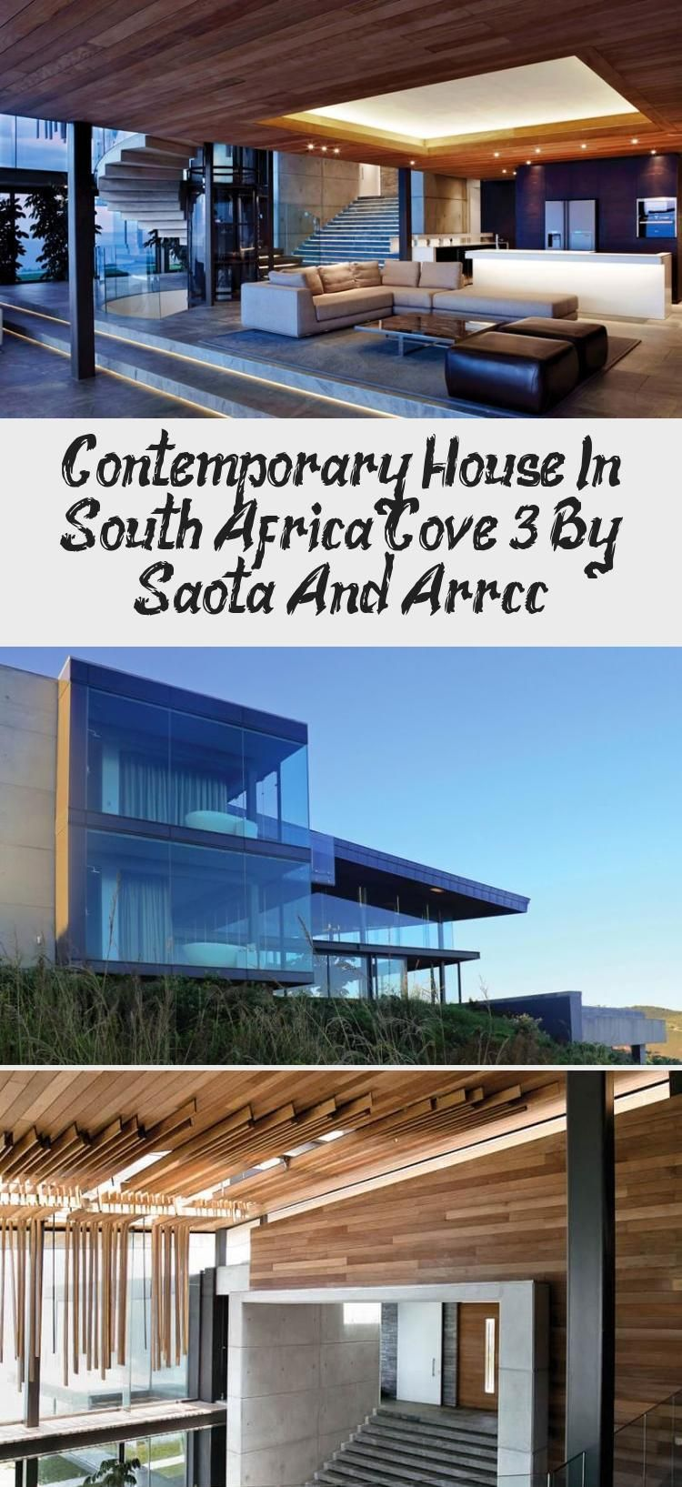 Photo of Contemporary House In South Africa: Cove 3 By Saota And Arrcc – Elsie's Blog