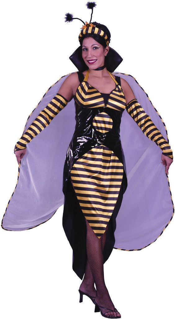 women's costume: queen bee