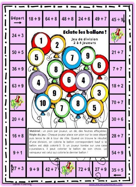 Des jeux pour r viser les tables de multiplication - Tables de multiplication cm2 ...