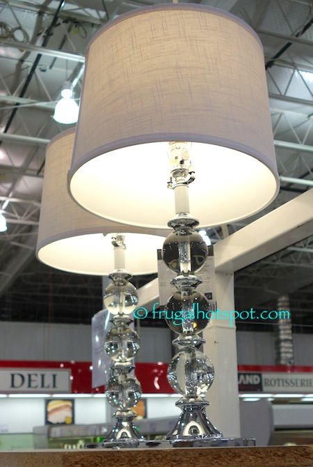 Bridgeport Designs Set Of 2 Crystal Table Lamps Costco FrugalHotspot