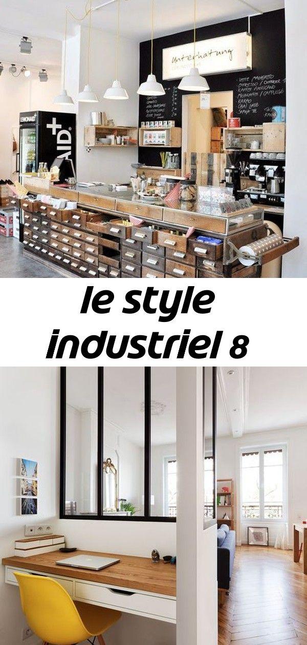 Le Style Industriel Petit Coin Bureau Meuble En Bois Et Tiroir De