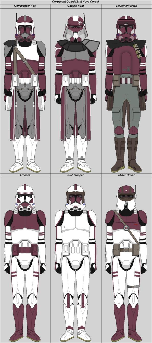 Coruscant Guard 21st Nova Corps By Suddenlyjam Clone
