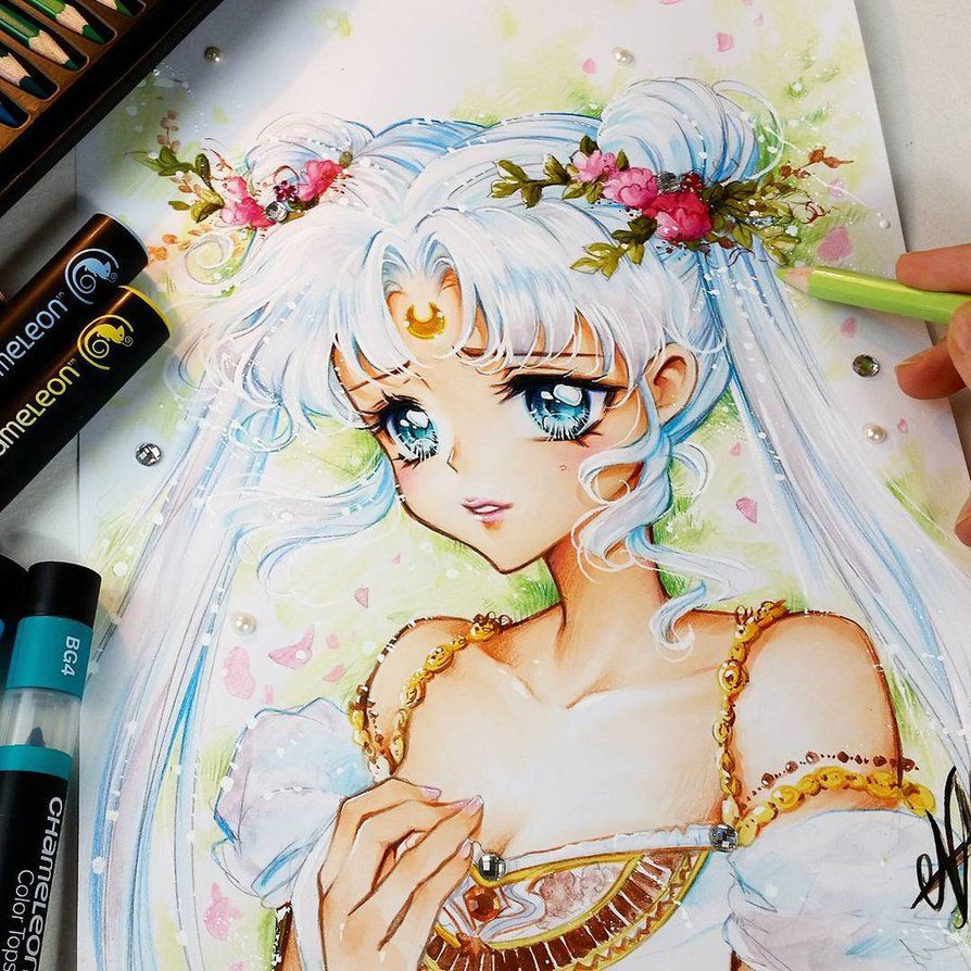 I got my new Chameleon Colored Pencils & Color Tops   I love the effects i can create with them and the Color Pencils truly perfect harmonize with the basic Chamelen Markers ;D You can buy...