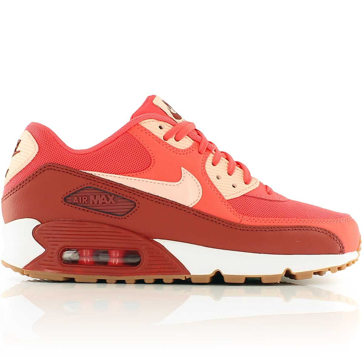 first look new appearance new arrivals nike WMNS AIR MAX 90 ESSENTIAL EMBER GLOW/ARCTIC ORANGE-DARK ...