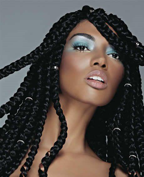 Enjoyable 1000 Images About Box Braids Amp Twists On Pinterest Box Braids Short Hairstyles Gunalazisus