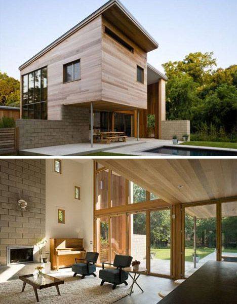 Beau Sustainable Style: 12 Contemporary Green Home Designs