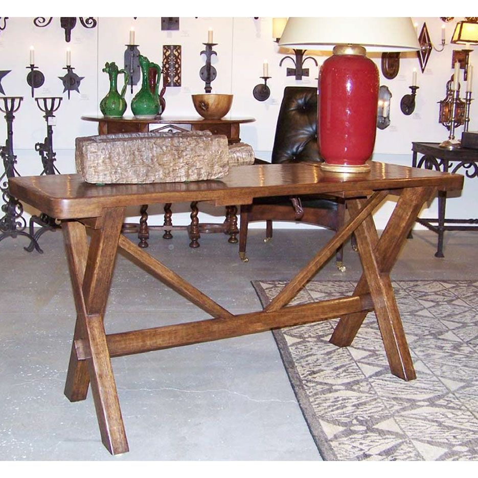 6148 Trestle II Table - Paul Ferrante
