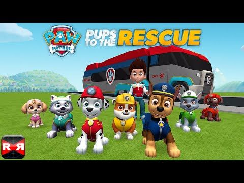 Paw Patrol Pups To The Rescue By Nickelodeon Ios Android Full Gameplay Video Paw Patrol Movie Paw Patrol Pups Paw Patrol Games