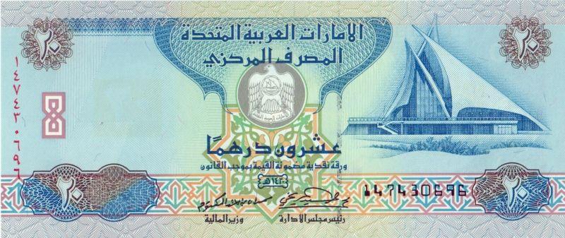 United Arab Emirates Dirham Currency