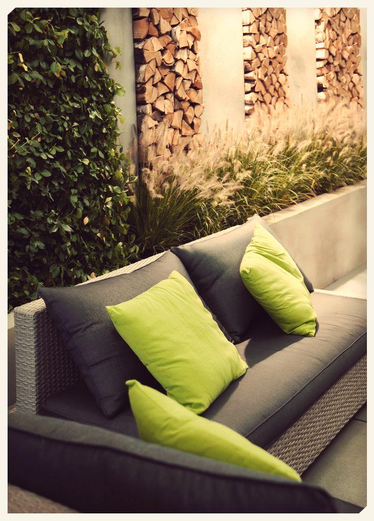 Roof garden perfecto #decoracion #rojo #color #home #hogar�
