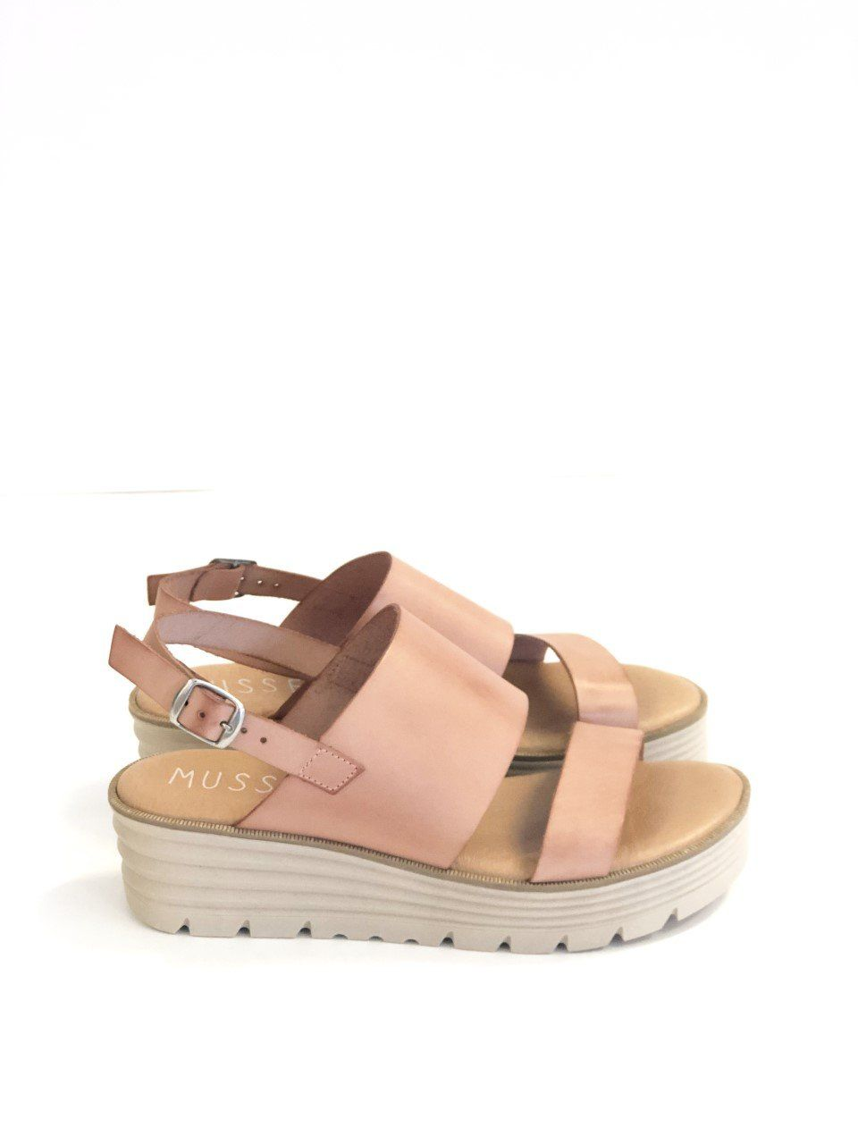 Flavia Platform Sandal in natural by Musse & Cloud | Sandals