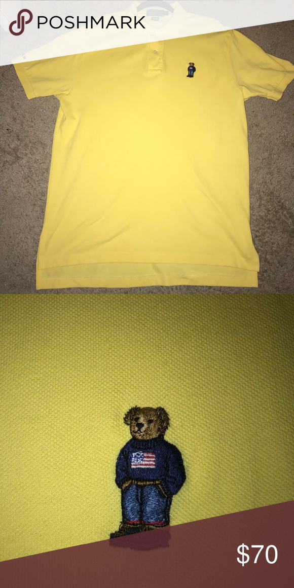 Ralph Shirt Bear Lauren Vintage Polo By With m0N8nw