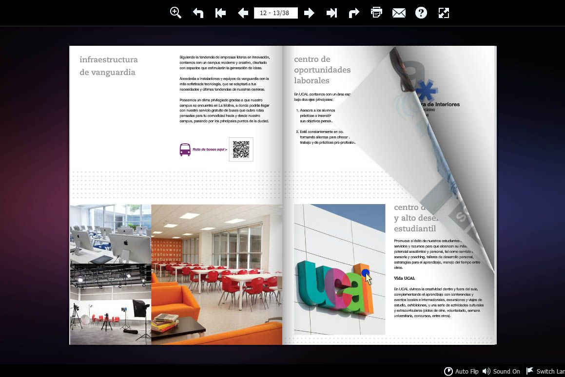 College Brochure Template Link HttpWwwFlipbuilderCom