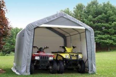 ATV Shed - Portable Plastic Tent //atvshed.com & ATV Shed - Portable Plastic Tent http://atvshed.com/ | Portable ...