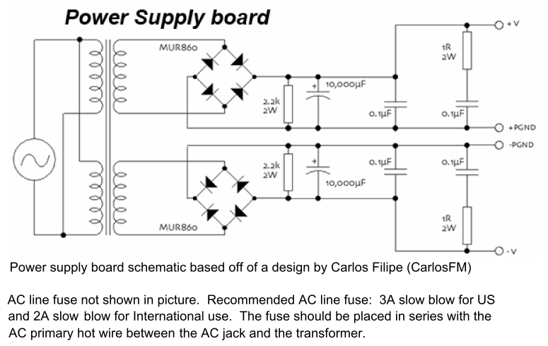 lm3886 amplifier power supply schematic circuits pinterest rh pinterest com amp power supply schematic tube amplifier power supply schematic