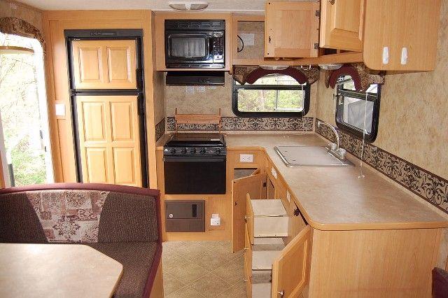 Rv Kitchen Kit  2009 Pilgrim 25Prk Single Slide Rear Kitchen Inspiration Kitchen Kit Decorating Inspiration