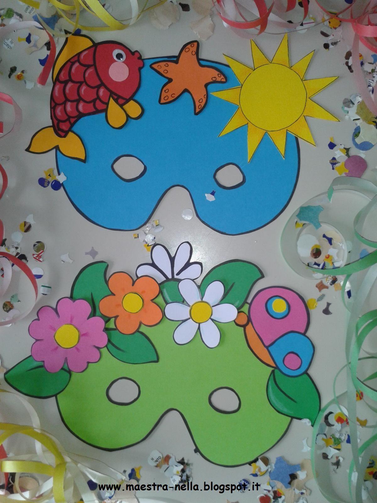 Maestra Nella Carnevale Maschere 4 Stagioni Carnevale