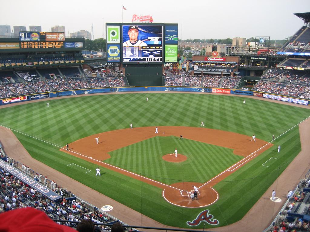 Turner Field Braves Com Ballpark Braves Atlanta Braves Baseball Park
