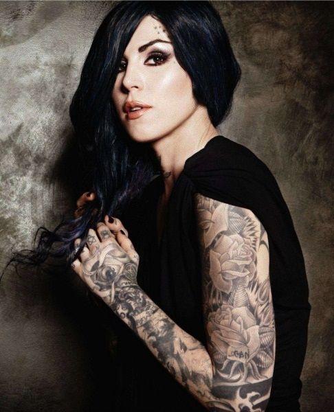 Tattoo For Pregnant Woman: Hottest Tattooed Women Top 10 10. Kat Von D